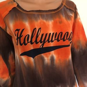 American Vintage Cotton Top S Hollywood Tye Dye